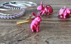 DIY Bunny Keychains | 50 Really Cool and Easy DIY Crafts For Teens | Crafts For Teens | DIY Projects for teens |DIY Crafts