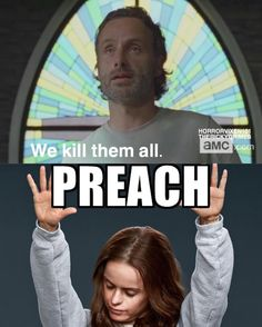 Walking Dead/ Orange is the New Black! Love them both!