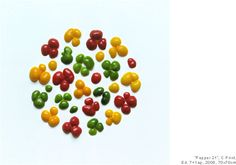 PhotoPojects -Geometric Fruits and Vegetables  Pepper