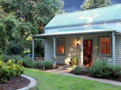 12 Old Thorpdale Road, Mirboo North, Vic 3871 - Property Details Cute Cottage, Farm Cottage, Cottage Style, Farmhouse Style, Coastal Farmhouse, Cottage Design, House Design, Weatherboard House, Queenslander