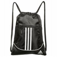 Adidas Alliance II Drawstring Backpack Accessories (Black)