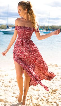 Serena Dress - Red - Lovecy - 6