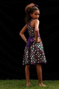 modele robe pagne pour petite fille. Black Bedroom Furniture Sets. Home Design Ideas