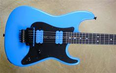 Charvel Custom Shop San Dimas BMW Blue Racer Electric Guitar