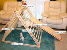 Pikler triangle 120 cm, Step Triangle, Climbing triangle for toddlers , Pikler dreieck ! Toddler Climbing, Le Triangle, Aspen Wood, Activity Toys, Montessori Toys, Baby Safe, Wood Toys, Toddler Toys, Kids Playing