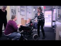 Grab a tissue....Canadian cellphone company TELUS asked their Facebook fans what they would give if they could give anything. Then they went out and bought one of them a wheelchair lift.