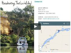 Luxury Houseboats, Houseboat Rentals, Murray River, Me On A Map, Holiday, Vacations, Holidays, Vacation