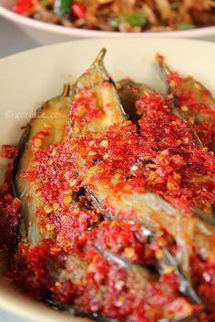 Terong Balado, Spicy Eggplants