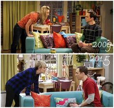 Some things stay the same between Penny and Sheldon. #BigBangTheory