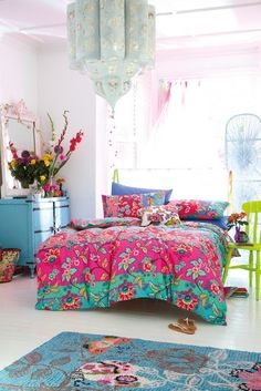 Cheerful Bedroom From Heart Home Magazine UK