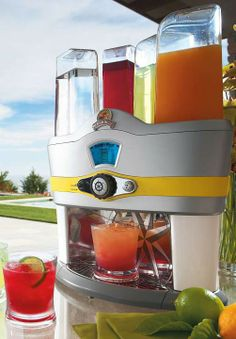 This summer, create a tropical vacation in your own backyard with the Margaritaville Mixed Drink Maker!