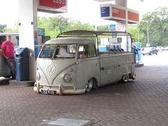 Wow, yes, tuckin and layin uffff! very hard on a VW
