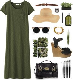 """A walk in the forest"" by kayli22 ❤ liked on Polyvore"