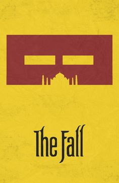The Fall (2006) ~ Minimal Movie Poster by Begum Ozdemir