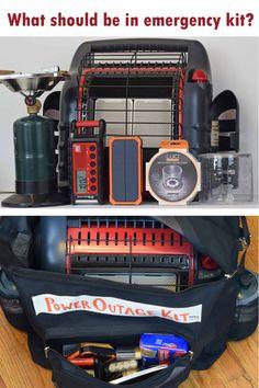 Prepper Gear, Storm Kit, Power Outage Kit, earthquake supply list, emergency equipment checklist #PrepperGear #PowerOutageKit #StormKit