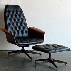 Mulhauser Lounge Chair & Ottoman, $1,648, now featured on Fab.