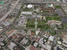 3D Simulation Model of Exposition/University Park Project Area