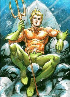 Aquaman by Yildiray Cinar