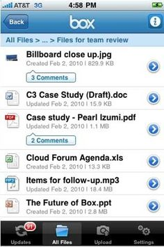 I use drop box daily!  I save my recipes as PDF's and then I can pull them up to cook.