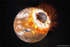 火星の月、巨大隕石と「消えた第3の月」が形成か 最新研究より   sorae.jp : 宇宙(そら)へのポータルサイト