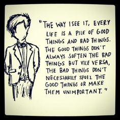 Image result for the way i see it the world doctor who quote
