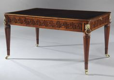 An Important George III Mahogany Library Table of Superb Colour & Quality