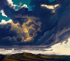 Ed Mell (American, b. 1942): Eye of Storm.