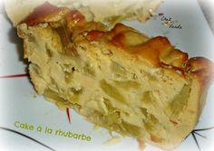 Cake à la rhubarbe (4P)