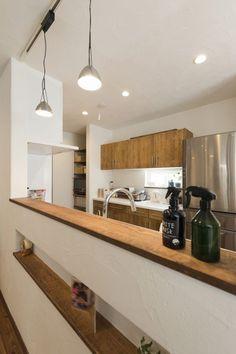 腰壁のニッチがかわいくて便利 #キッチン #igstylehouse #アイジースタイルハウス