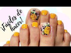 - YouTube Toe Nail Art, Toe Nails, Nail Art Designs Videos, Cute Animal Photos, Lady, Feet Nails, Nail Bling, Designed Nails, Made By Hands