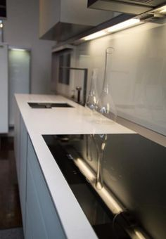 Miele Induction Cooktop in the Poggenpohl Showroom.