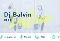Bono Dj. Balvin Reggaeton Baile Fitness