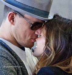 Love this photo of my favorite couple, Channing Tatum and Jenna Dewan-Tatum.