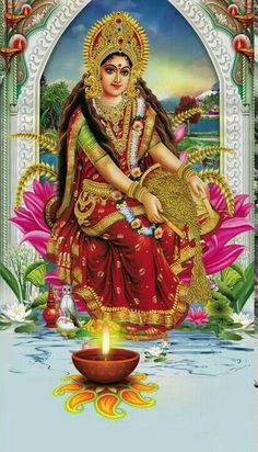 Navratri Puja will help you overcome all your negativities. Flourish with wealth on this Navratri by offering Homam to Lakshmi, Saraswathi & Durga. Durga Maa Pictures, Durga Images, Lakshmi Images, Hanuman Images, Lord Durga, Durga Ji, Lord Shiva, Indian Goddess, Goddess Lakshmi