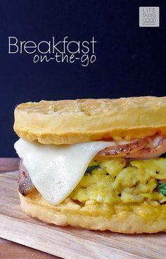 Breakfast On-the-Go Egg Sandwich
