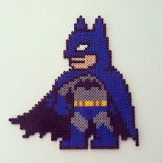 Batman hama beads by colorshock2013