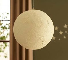 Glow in the Dark Moon Mobile