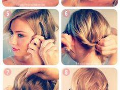 Idée de coiffure pour cheveux court