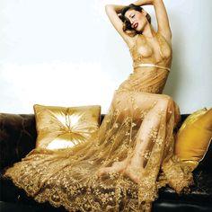 Lingerie Wishlist: Loveday London Goddess Boudoir Gown   The Lingerie Addict: Lingerie Fashion Blog