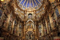 Main Altar in the Iglesia de San Francisco- This church isn't open to the public very often, but it's worth seeing if you can catch it on an open day.