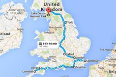 The Perfect Itinerary for a Road Trip in England - Bruised Passports