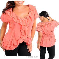 Casual Plus Fashion trendy blouses for Junior Plus size, lady plus size tops, shirt, bottoms, dresses
