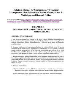 17 best solution manual 3 images on pinterest solution manual for contemporary financial management 13th edition by moyer mcguigan and rao fandeluxe Images