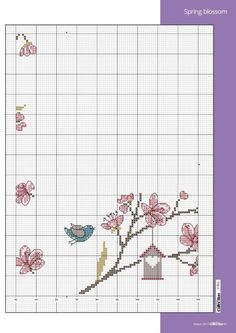 Cross Stitch Bird, Cross Stitch Borders, Cross Stitch Animals, Cross Stitch Flowers, Cross Stitch Patterns, Cross Stitch Collection, Rico Design, Fair Isle Pattern, Stitch 2
