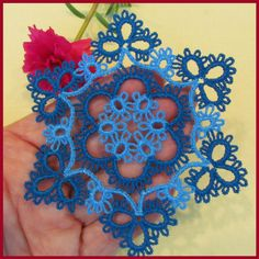 Tatted Lacy Snowflakes by Murphy's Designs
