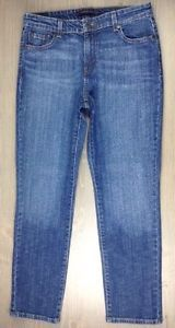 Levis-Jeans-12S-Womens-Mid-Rise-Skinny-Stretch-Pants-Denim-Blue