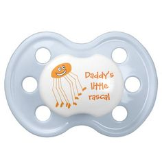 Daddy long legs baby pacifier