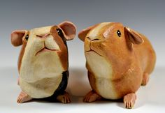 Introducing high-fire stoneware Guinea piggy banks by Tracie Griffith Tso. Original, functional banks, these piggies come complete with bios and an attitude all their own. Available in July at the Torpedo Factory Art Center at Studios 19 and 22. Introducing, from left, Crispin from Oxfordshire and Ginger from San Francisco. #cavy #guineapig #sculpture #piggybank #pottery #inksart