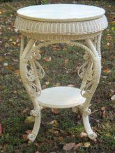 Fancy Victorian Wicker Table