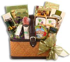 Alder Creek Taste Of Wine Country Holiday Gift Basket 13 Pc Classic Gathering #AlderCreekGiftBaskets
